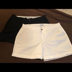 Old Navy Shorts - Size 8 - Black and White
